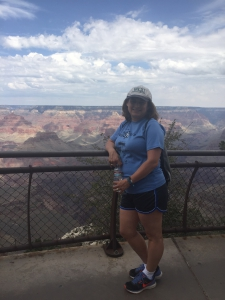 Me at the Grand Canyon...playing it safe by the guardrail!
