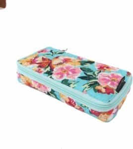 floral pillbox